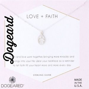 NWT Dogeard Love & Faith Sterling Silver Necklace